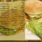 Potato Burger Urdu English Recipe by Zubaida Tariq Handi