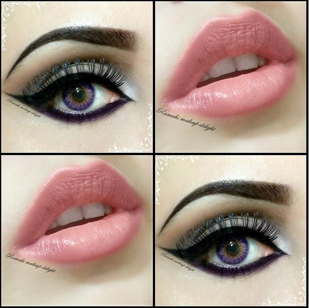 Smokey Eyes Makeup Party tips pictures Open Eye Makeup Tips Bridal Pakistan India Facebook 2014 2015
