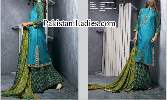 palazzo trousers Plazo Ittehad Winter Collection 2014 2015 for Women and Girls Facebook