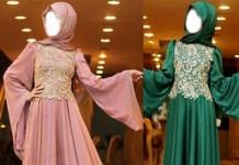 2015-Latest-Fashion-Arabic-Style-Muslim-Maxi-Dress-for-Wedding--Kaftan-Jalabiya-Design-Flare-Long-Sleeve-Dreen-Pink