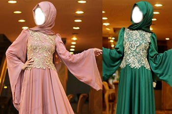 Muslim Bridal Maxi Wedding Dress Fashion 2015 Kaftan Jalabiya