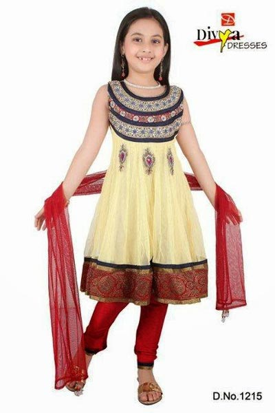 Beautiful-Fancy-Kids-Anarkali-Suit-Frocks-Designs-2015-Indian-Collection-Pakistani-Party-Wedding