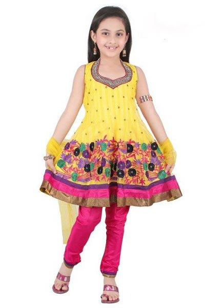 Beautiful-Kids-Anarkali-Frocks-Suit-Designs-2015-Indian-Collection-Pakistani-Party-Wedding