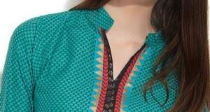 Beautiful Neck Gala Designs 2015 Salwar Kameez Suits