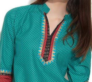 Beautiful Neck Gala Designs 2015 Salwar Kameez Suits
