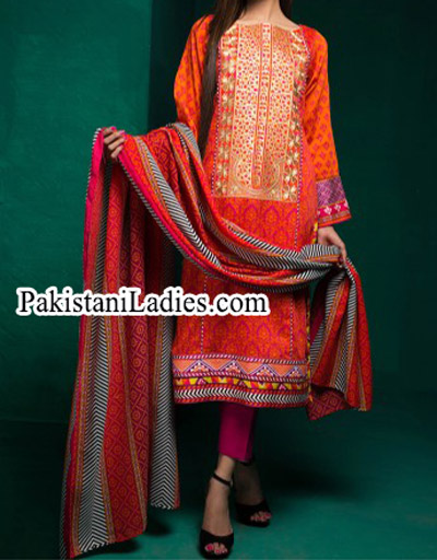 Bonanza Satrangi Winter Designs Collection 2014 2015 Prices for Women and Girls estore Sale Facebook PKR 3,104.00
