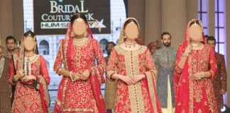 Bridal Wedding Dresses 2015 Fashion of Long Shirt Lehenga Choli Plazo Palazzo Frock Open Tail Gown Pakistan