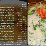 Dal Bhat Recipe in Urdu English by Rida Aftab Masala TV