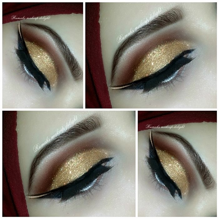 Dubai Egyptian Arabic Bridal Smokey Stylish Eyes Makeup Tips Pictures 2015 2014 Facebook  Pinterest Lipstik