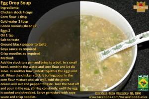 Egg Drop Soup Recipe in English by Food Diaries Zarnak Sidhwa Masala TV Facebook Winter