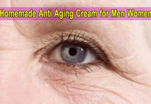 Homemade Anti Aging Cream for Men Women, Urdu Get Ride Wrinkles on Face Eyes Treatment