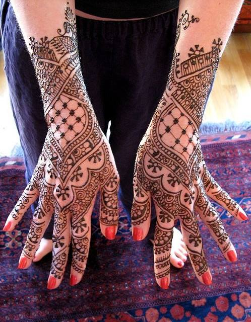 Latest Bridal Mehndi Designs Images For Full hands Free Download 2015-16 Facebook