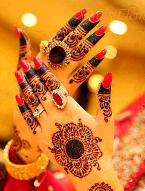 Mehndi Designs Images For Dulhan Hands Free Download