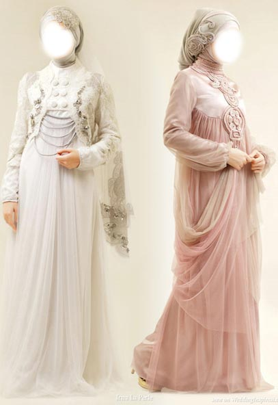 New-Arabic-bridal-Dresses-collection-and-hijabs-for-Muslim-Women-2015 Evening Dress