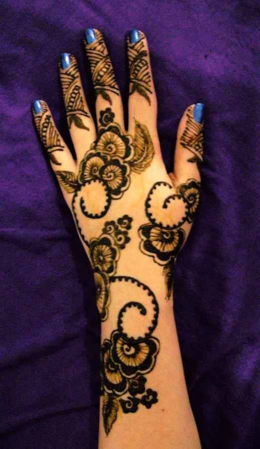New Fancy Top Indian Mehndi Designs 2015 For Bridal Full