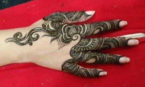 New Top Indian Mehndi Designs 2015 for Bridal Full Back Hands Pinterest Facebook Arabic