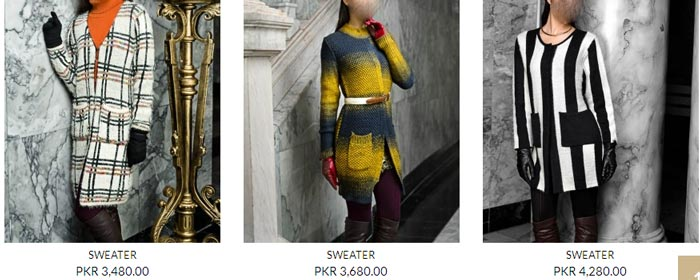 New Winter Collection  Bonanza Pakistan Sweaters, Jerseys, Jackets, Jarsi 2014 2015 with Prices for Women Girls Fashion