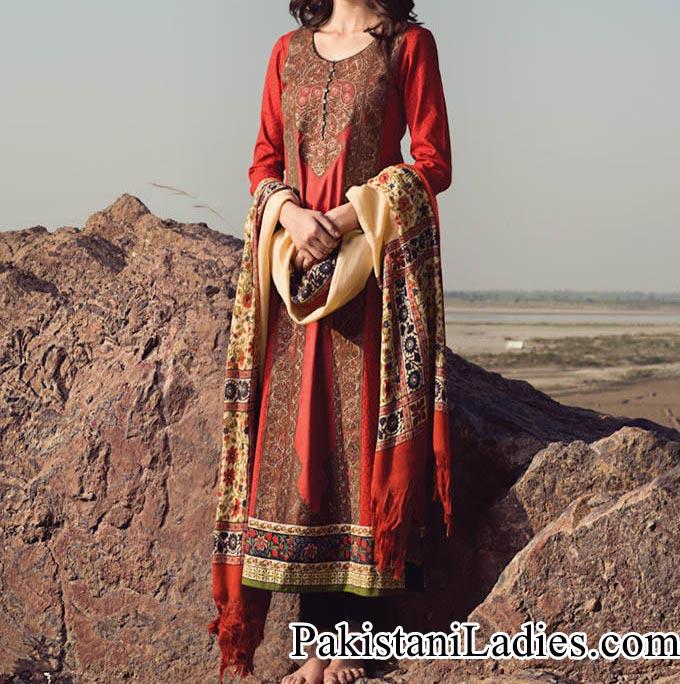 Sana-Safinaz-Winter-Collection-2014-2015-Prices-for-Women-Girls-Fashion-Dresses-Salwar-Kameez