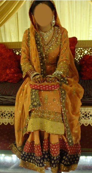 Sharara-Mehndi-Mayon-Yellow-Dress-Suit-Dupata-Frock-Stylish-Designs-2015-Indian-Pakistani