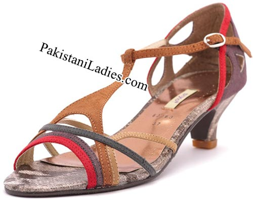 Stylo Shoes New Arrival Designs Winter Collection 2014-2015 prices Brown-Formal-Sandals--Rs-1,450