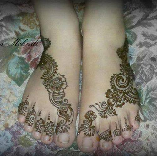 Chand raat mehndi henna designs 2014 - Foot Mehndi Designs 2015 Latest Arabic Henna Designs