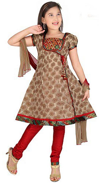 Fashion Design Dresses For Kids Kids Anaarkali Frocks suits