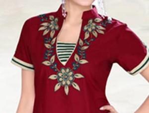 2015 Beautiful Stylish Collar Ban Neck Gala Designs for Salwar Kameez Suit Shirts Kurti