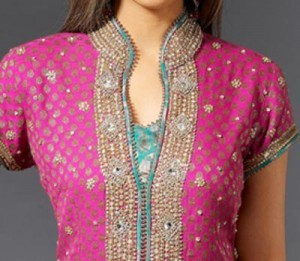 2015 Fancy Beautiful Stylish Collar Ban Neck Gala Designs for Salwar Kameez Suit Shirts Kurti Embroidered