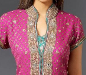 2015 Fancy Beautiful Stylish Collar Ban Neck Gala Designs for Salwar Kameez Suit Shirts Kurti Embroidered