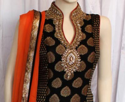 2015 Fancy Beautiful Stylish Collar Ban Neck Gala Designs for Salwar Kameez Suit Shirts Kurti ...