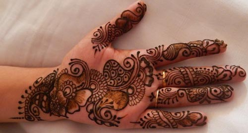 Mehndi For Left Hand Front : Amazing arabic bengali mehndi designs for front back hands