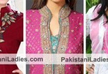 Ban Collar Neck Designs for Salwar Kameez Suit, Kurtis in India 2015 Pakistan
