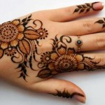 Amazing Arabic Bengali Mehndi Designs For Front Back Hands 2015