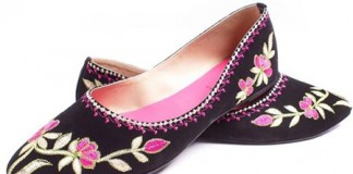 Beautiful Black Borjan Shoes New Arrival Pumps Winter Collection 2014 Price 2015 Designs Footwear Sale