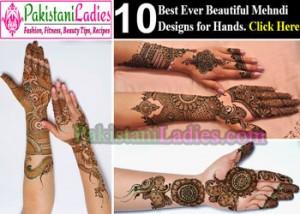 Beautiful Bridal Dulhan Mehndi Designs for Hands 2015 Indian
