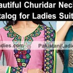 Cotton Churidar Suits Neck Gala Designs Patterns Images Catalog