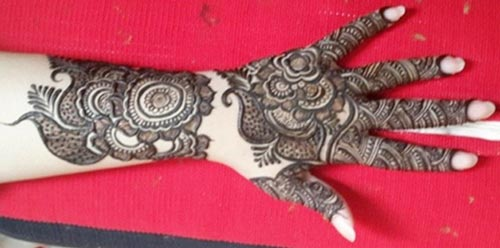 Dubai Mehndi Patterns : Unique gulf mehendi designs for hands makedes
