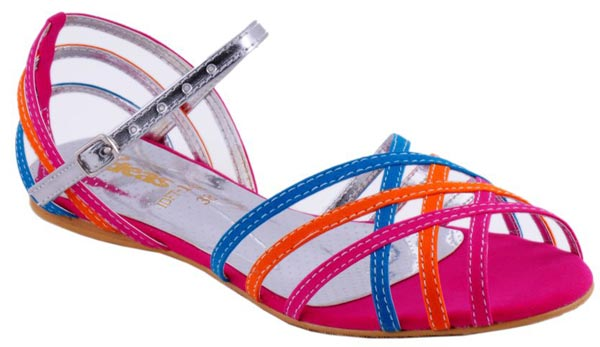 Gul Ahmed Ideas Women Shoes Chappal Multicolor Sandals