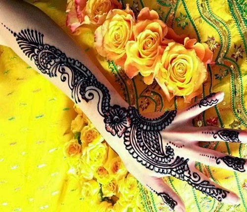 Black Bridal Beautiful Hands Mehndi Designs 2015 in Dubai India Arabic fancy stylish best facebook pinterest 2