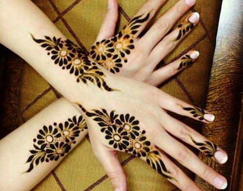 Black Glitter UAE, Khaleeji,Gulf Bridal Beautiful Hands Mehndi Designs 2015 fancy stylish best facebook pinterest 6