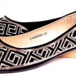 Borjan Shoes New Arrival Pumps Winter Collection 2014 Price 2015 Designs Footwear Black white