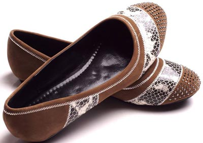 Borjan Shoes New Arrival Pumps Winter Collection 2014 Price 2015 Designs Footwear  Brown