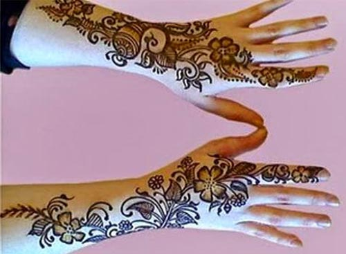 Bridal Beautiful Hands Mehndi Designs 2015  Glitter UAE, Khaleeji,Gulf fancy stylish best facebook pinterest 7