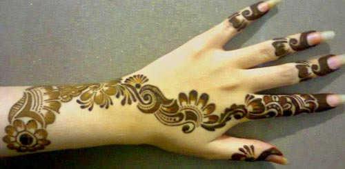 Bridal Beautiful Hands Mehndi Designs 2015 fancy stylish best facebook pinterest 5