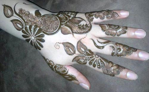 Famous Easy & Beautiful Henna Mehndi Designs Images for free download