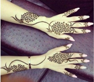 Bridal Omani Henna Designs for Hands, Muscat Mehndi Facebook Pics 2015