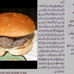 Burgers in Garlic Sauce Recipe Urdu English by Zarnak Sidhwa