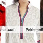 Chinese Collar Neck Designs 2015 for Kurti Shirt Kameez Salwar