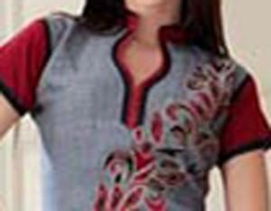 Cotton Churidar Suits Neck Gala Designs Patterns Images Kurta Collar