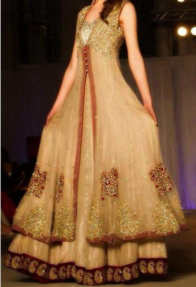 Net-Double-Open--Panel-Style-Frock-Gown-Dresses-Collection-2015-Plazo ...